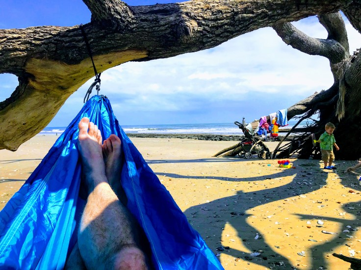 Hammock in the shade of a tree on Botany Bay Beach.jpg